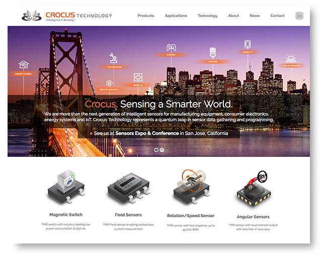 crocus technology homepage